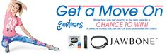 Win a Jawbone Fitness Tracker or 1 of 5 $50 Gordmans gift cards!
