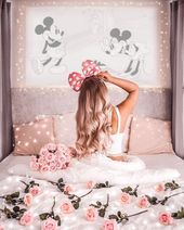 Laughter is timeless, Imagination has no age and dreams are forever - Walt Disney ::: Happy Friday friends, I send a lot of love to you all and wish you a great Stylish Girls Photos, Girl Photos, Girly Pictures, Cute Disney, Walt Disney, Girl Photography Poses, Disney Wallpaper, Pink Aesthetic, Art Girl