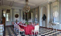 Salle à manger au Château de la Ferté Saint-Aubin