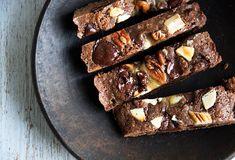 Cookies bars - til 6-8 personer med chokolade, pecannødder og karamel
