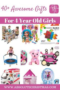 Gifts for 4 year old girls - What do four year old girls want for Christmas and Birthdays? Our up-to-date gift guide features the latest toys and trends For 1 Year Old Four Year Old Christmas Gifts, Gifts For 3 Year Old Girls, Best Christmas Toys, 4 Year Old Girl, Birthday Presents For Girls, Kids Gifts, Christmas 2019, Kylie Christmas, Christmas Ideas