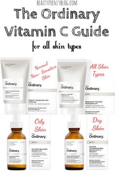 The Ordinary Vitamin C Guide