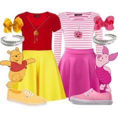 Image result for piglet disneybound outfit