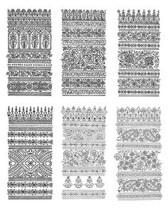 Welcome to Dover Publications: Paisley Designs CD-ROM and Book Zentangle Patterns, Textile Patterns, Print Patterns, Zentangles, Textile Prints, Textile Design, Textiles, Paisley Design, Paisley Pattern