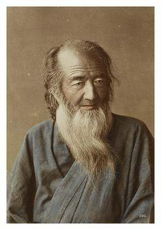 Portrait of an elderly man By Raimund von Stillfried-Rathenitz, c. 1875