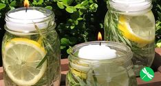 Keep Bugs Away With This Essential Oil Mason Jar Repellent
