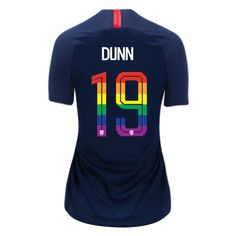 482f6a06b 2018 Away Crystal Dunn Women s PRIDE Soccer Jersey USA Soccer Fans
