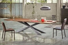 Spyder+Wood+Dining+Table+by+Cattelan+Italia+#18755