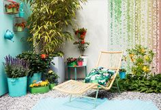 De hysterische tuin; more is more!