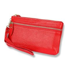 0b93cfb7d2 Lady PU Leather Spring Summer Candy Color Day Clutches. Leather Clutch BagsLeather  ...