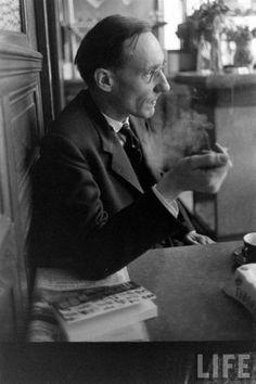 William S. Burroughs. Fav....hands down beatnik author.