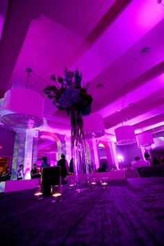 Pretty lighting at the Beach Club! #CalhounBeachClub #MinnesotaLightingRental