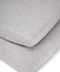 Cotbed Fitted Sheets (pack of 2) - Grey Marl £29