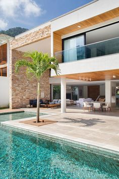 Dream Home Design, House Design, Luxury Homes Dream Houses, Mansions Homes, Facade House, House Goals, Architecture Design, Contemporary Architecture, Modern Contemporary