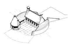 Ramthorne Farm sketch scheme - Adrian James Architects, Oxford