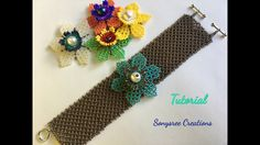 5 in 1 Summer Beaded Bracelet (part 1)  Mexican Huichol Beading
