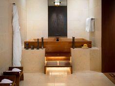 Bathroom. wood. marble. warm tones. design. water fixtures. love