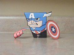 BIT+ Captain America Assembled by IdeatoPaperStudios.deviantart.com on @deviantART