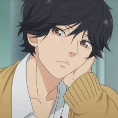 Find images and videos about anime, manga and ao haru ride on We Heart It - the app to get lost in what you love. Otaku Anime, Manga Anime, Anime Art, Old Anime, Anime Guys, Aesthetic Anime, Aesthetic Art, Futaba Y Kou, Kou Diabolik Lovers