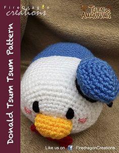 Compartido a través de Kindle. Descripción: Create a cute (kawaii) amigurumi doll based on the Donald Duck Tsum Tsum