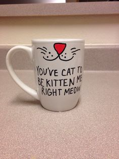 For the kitty lovers! Buy your own at https://www.etsy.com/shop/GabbysMugs?ref=pr_shop_more