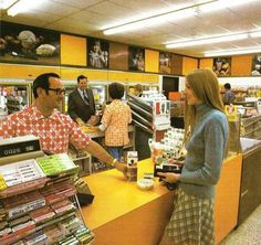 7-Eleven in 1973 Location: Los Angeles!