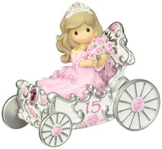 Precious Moments Figurine, Quinceanera Girl in Carriage