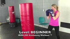 punching bag workout for beginners - YouTube