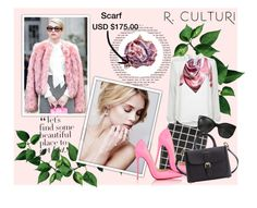 """R.Culturi contest"" by jasmina-fazlic ❤ liked on Polyvore featuring mode, Zizzi, Christian Louboutin, Burberry, Diane Von Furstenberg, Chanel en modern"