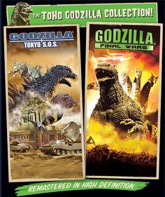 Black Friday 2014 Godzilla: Final Wars / Godzilla: Tokyo S. - Set [Blu-ray] from Sony Cyber Monday Godzilla Tokyo Sos, Black Friday Specials, Blu Ray Movies, Nalu, Sony, Cool Things To Buy, Collection, Amazon, Monsters