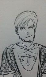 Sir Allan Howard, o humano cavaleiro