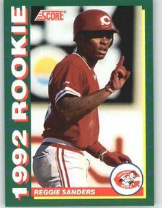 1992 Score Rookies #35 Reggie Sanders - Cincinnati Reds (Baseball Cards) by Score Rookies. $0.88. 1992 Score Rookies #35 Reggie Sanders - Cincinnati Reds (Baseball Cards)