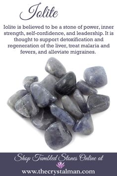 Power-Inner Strength-Self Confidence-Leadership-Detox-Liver-Malaria-Fever-Migraines Shop hundreds of tumbled stones online any time at The Crystal Man! Crystal Guide, Crystal Magic, Crystal Healing Stones, Stones And Crystals, Gem Stones, Minerals And Gemstones, Crystals Minerals, Rocks And Minerals, Chakras