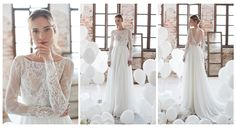 Romantic sexy long By Noya Bridal VALERIA COLLECTION | Zhiboxs.com