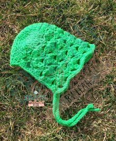Lacy Clover Infant Bonnet 1