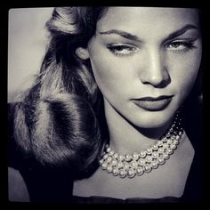 Diamonds in the Library. Lauren Bacall 1924-2014