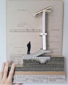 """6,860 Likes, 22 Comments - Mini Architects' Work (@archi_students) on Instagram: """"Beautiful 1/25 sectional model by @mhnlee #archi_students"""""""