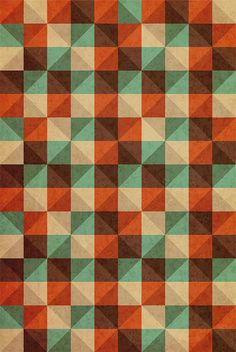 retro pattern by patricia cervantes