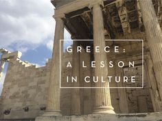 Understanding both Greeks and their culture before your visit.