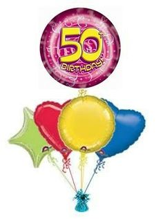 50th Party Streamers