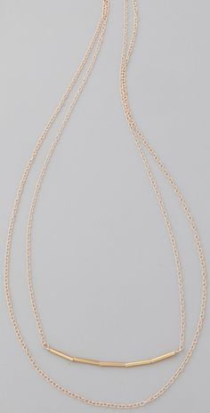 Love this Gorjana necklace! Great by itself or for layering!