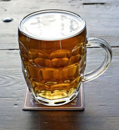 The English pint.....this one looks a bit flat though!