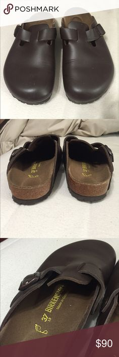 Birkenstocks Worn 2-3 times, just don't like the style. Bought the Arizona slides instead! Shoes Mules & Clogs