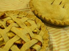 Sourdough Pie Crust - In this recipe, sourdough starter is used in place of water. Like any pie crust, the key to working with sourdough pie crust is cold ingredients and handling as little as possible.