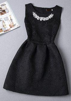 Beaded Prom Dress,Black Prom Dress,Mini Prom Dress,Fashion Homecoming Dress,Sexy Party Dress, New St on Luulla
