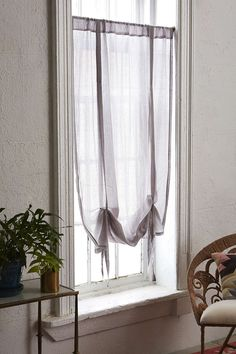 Plum & Bow Chloe Gauze Draped Window Shade