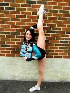 Twist Cheer Magazine featuring   b-silv from cheer sport great white sharks