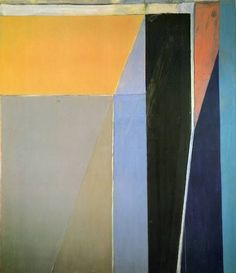"""Richard Diebenkorn """"Ocean Park No. 28"""", 1970 (USA, Abstract Expressionism / Bay Area Figurative Movement, 20th cent.)"""