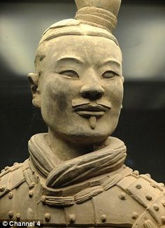 Terracotta Army had weapons that could kill an enemy with one arrow