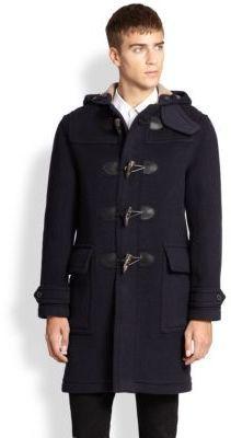 ce66168c5d43  1,295, Navy Duffle Coat  Burberry Brit Brockhurst Duffle Coat. Sold by  Saks Fifth